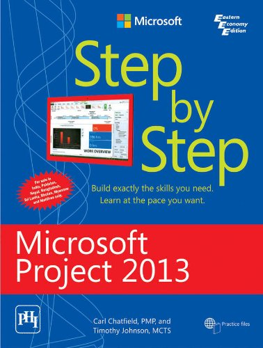 9788120347878: MICROSOFT PROJECT 2013 STEP BY STEP