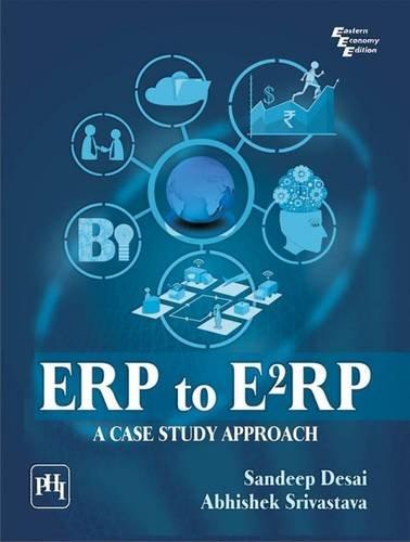 9788120348042: ERP to E2RP: A Case Study Approach