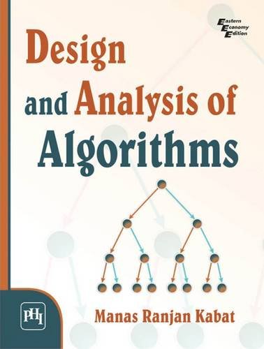 Design and Analysis of Algorithms: Manas Ranjan Kabat