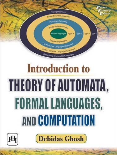INTRO TO THEORY OF AUTOMATA FORMAL LANGUAGES: GHOSH