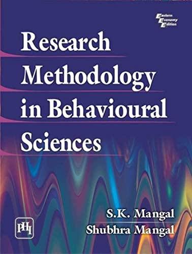9788120348080: Research Methodology in Behavioural Sciences