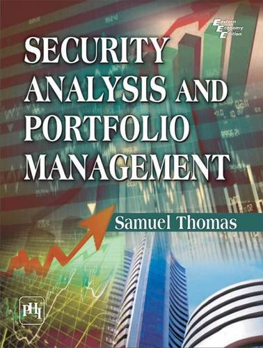 Security Analysis and Portfolio Management: Samuel Thomas