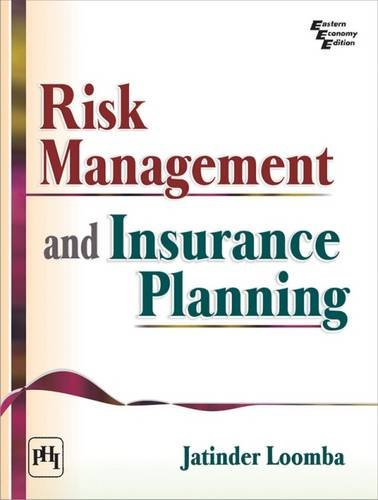 9788120348318: Risk Management and Insurance Planning