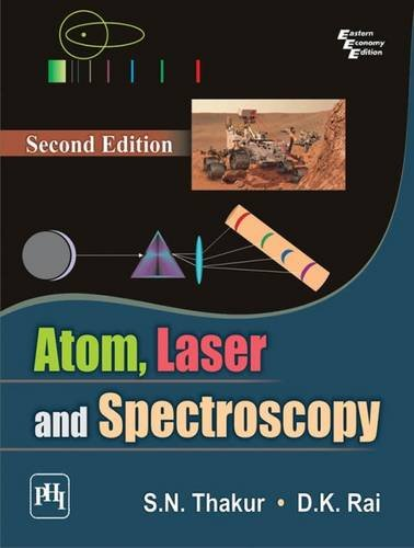 9788120348325: Atom, Laser And Spectroscopy