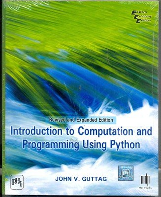 9788120348660: INTRODUCTION TO COMPUTATION AND PROGRAMMING USING PYTHON