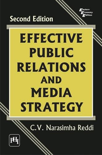 Effective Public Relations and Media Strategy: Reddi, Narasimha C.