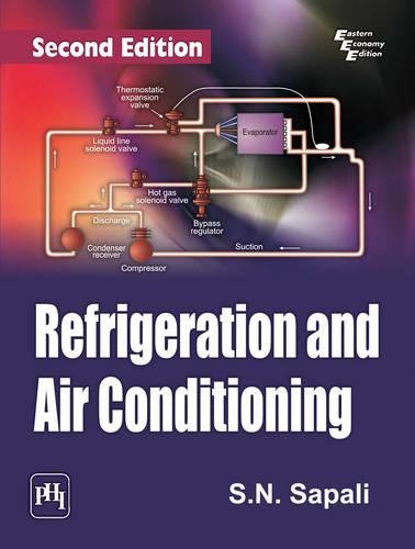 9788120348721: Refrigeration and Air Conditioning