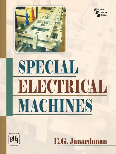 SPECIAL ELECTRICAL MACHINES: JANARDHANAN, E.G.