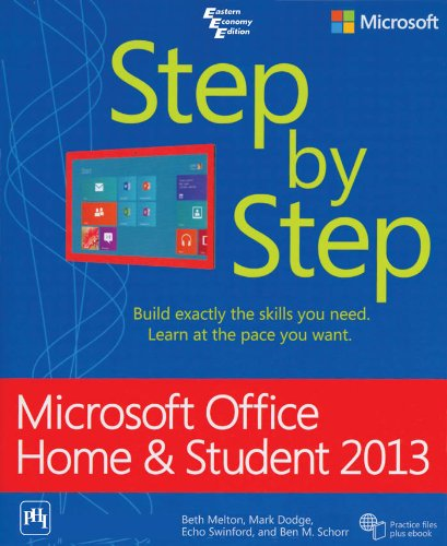 9788120349155: Microsoft Office Home And Student 2013 Step By Step