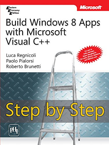 9788120349247: Build Windows 8 Apps With Microsoft Visual C++ Step By Step