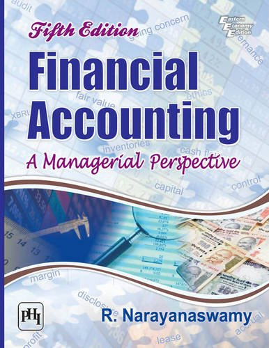 FINANCIAL ACCOUNTING 5TH ED: NARAYANASWAMY