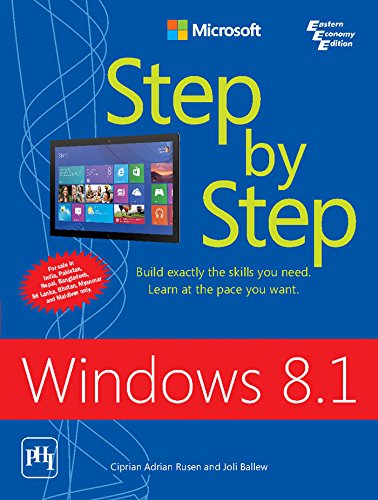 9788120349544: Windows 8.1 Step By Step