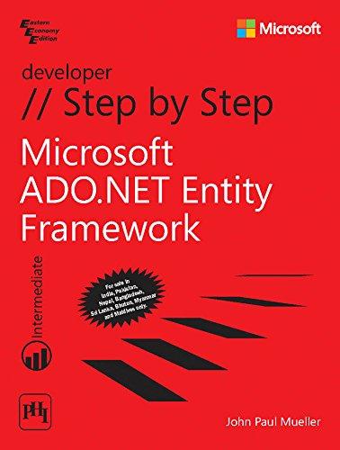 9788120349568: Microsoft ADO.Net Entity Framework Step By Step