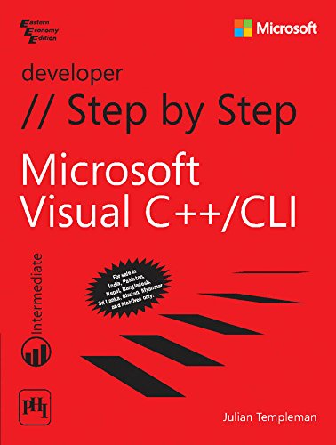 9788120349575: Microsoft Visual C++ CLI Step By Step