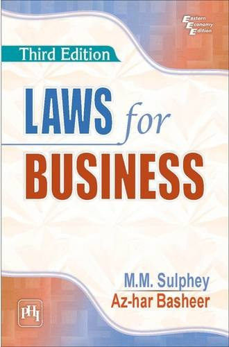 9788120349636: Laws For Business