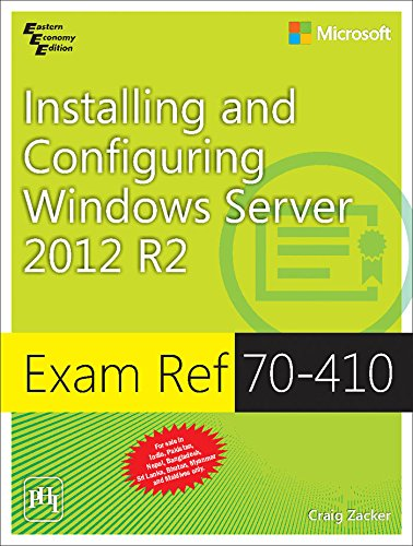 9788120349674: Exam Ref 70-410: Installing and Configuring Windows Server 2012 R2