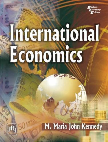 International Economics: M. Maria John