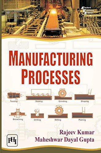 Manufacturing Processes: Maheshwar Dayal Gupta,Rajeev Kumar