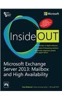 9788120350168: Microsoft Exchange Server 2013: Mailbox and High Availability Inside Out