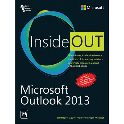 9788120350182: Microsoft Outlook 2013 Inside Out