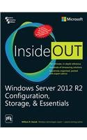 9788120350199: Windows Server 2012 R2 Configuration Storage And Essentials Inside Out