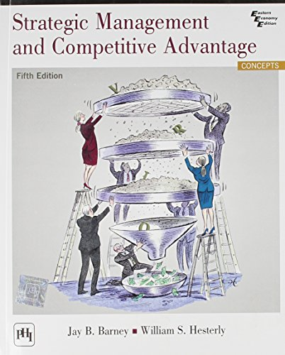 9788120350441: Strategic Management and Competitive Advantage (5th International Economy Edition)