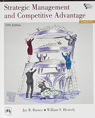 9788120350441: Strategic Management and Competitive Advantage (5th International Economy Edition)