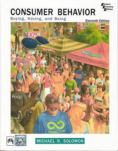 9788120350595: Consumer Behavior: Buying, Having, and Being Solomon 11e