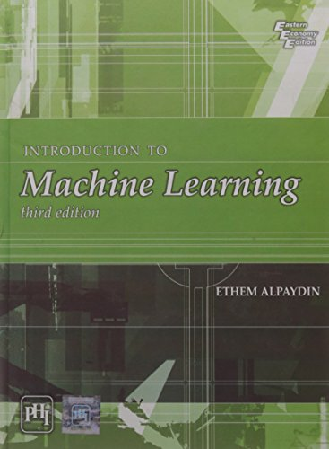 9788120350786: INTRODUCTION TO MACHINE LEARNING