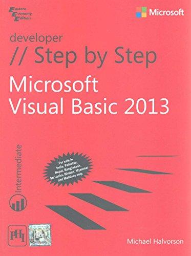 9788120350809: Microsoft Visual Basic 2013 Step By Step