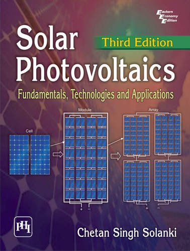 9788120351110: Solar Photovoltaics - Fundamentals, Technologies and Applications (English) 3rd Edition