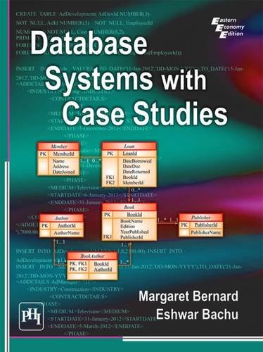 9788120351455: Database Systems with Case Studies