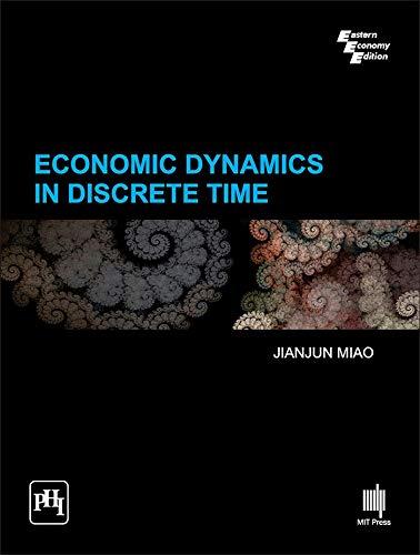9788120351844: Economic Dynamics In Discrete Time