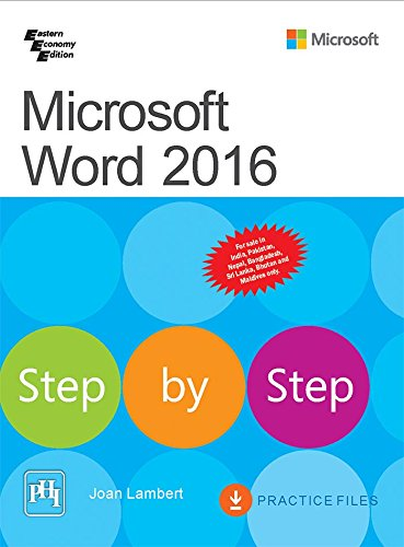 9788120352018: Microsoft Word 2016 Step by Step