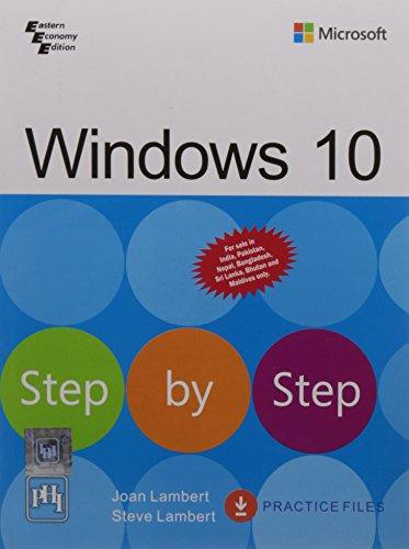9788120352056: Windows 10 Step by Step