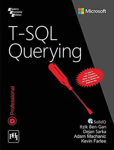 9788120352094: T SQL Querying