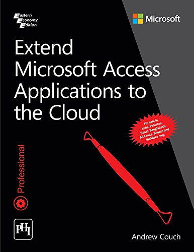9788120352100: Extend Microsoft Access Applications To The Cloud