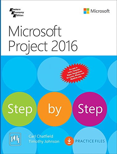 9788120352377: Microsoft Project 2016 Step By Step