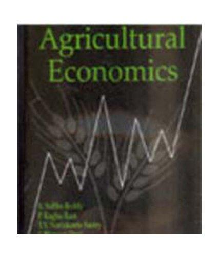 9788120415966: Agricultural Economics [Paperback] [Jan 01, 2008] Subba Reddy