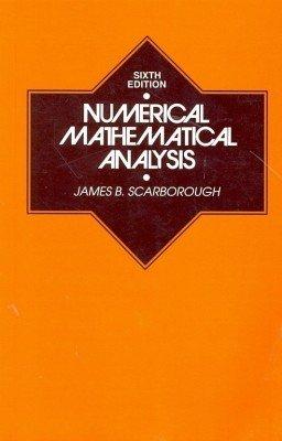 9788120417595: Numerical Mathematical Analysis, 6/E (PB)