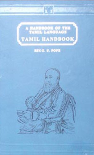 9788120600164: Tamil Handbook- A Handbook of the Tamil Language