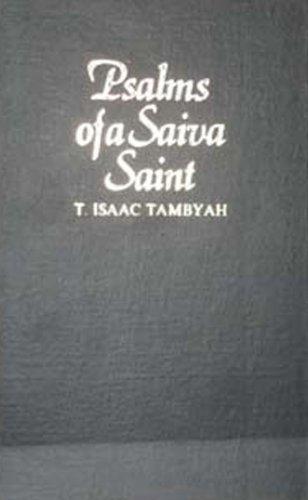Psalms of a Saiva Saint: T. Issac Tambyah