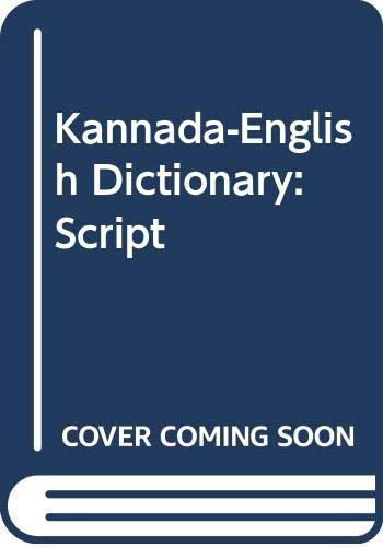 9788120600508: Kannada-English Dictionary