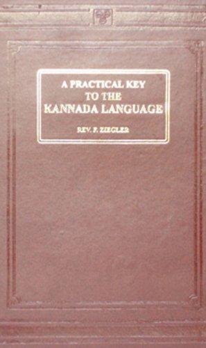 Practical Key to the Kannada Language: F. Ziegler