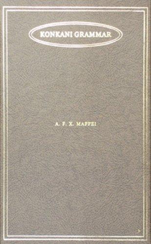 Konkani Grammar: Maffei, Xavier