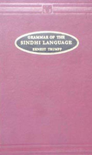 Grammar of the Sindhi Language: George Stack