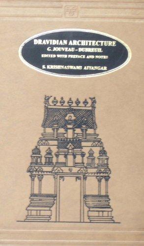 Dravidian Architecture: Dubreuil G.J.