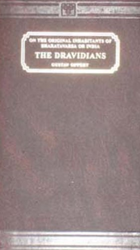 9788120603486: The Dravidians: On the Original Inhabitants of Bharatvarsa or India