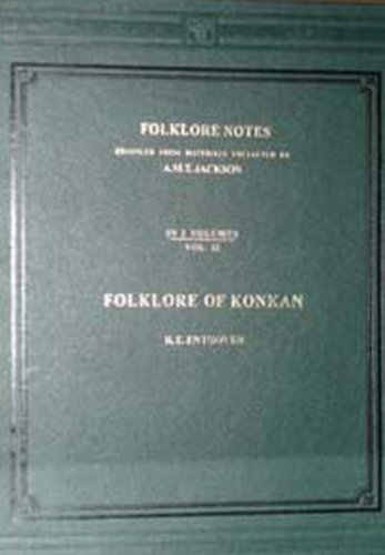 Folklore Notes, 2 Vols: R.E. Enthoven