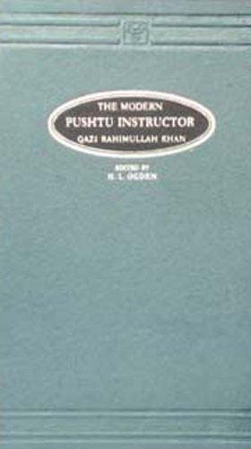 9788120605848: The Modern Pushtu Instructor (Pushto Words Romanized)